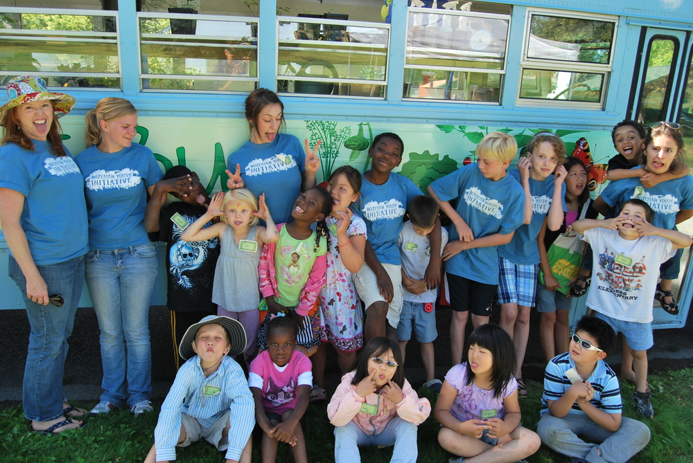 2011 Free Summer BOB Camp staff and some of the campers.