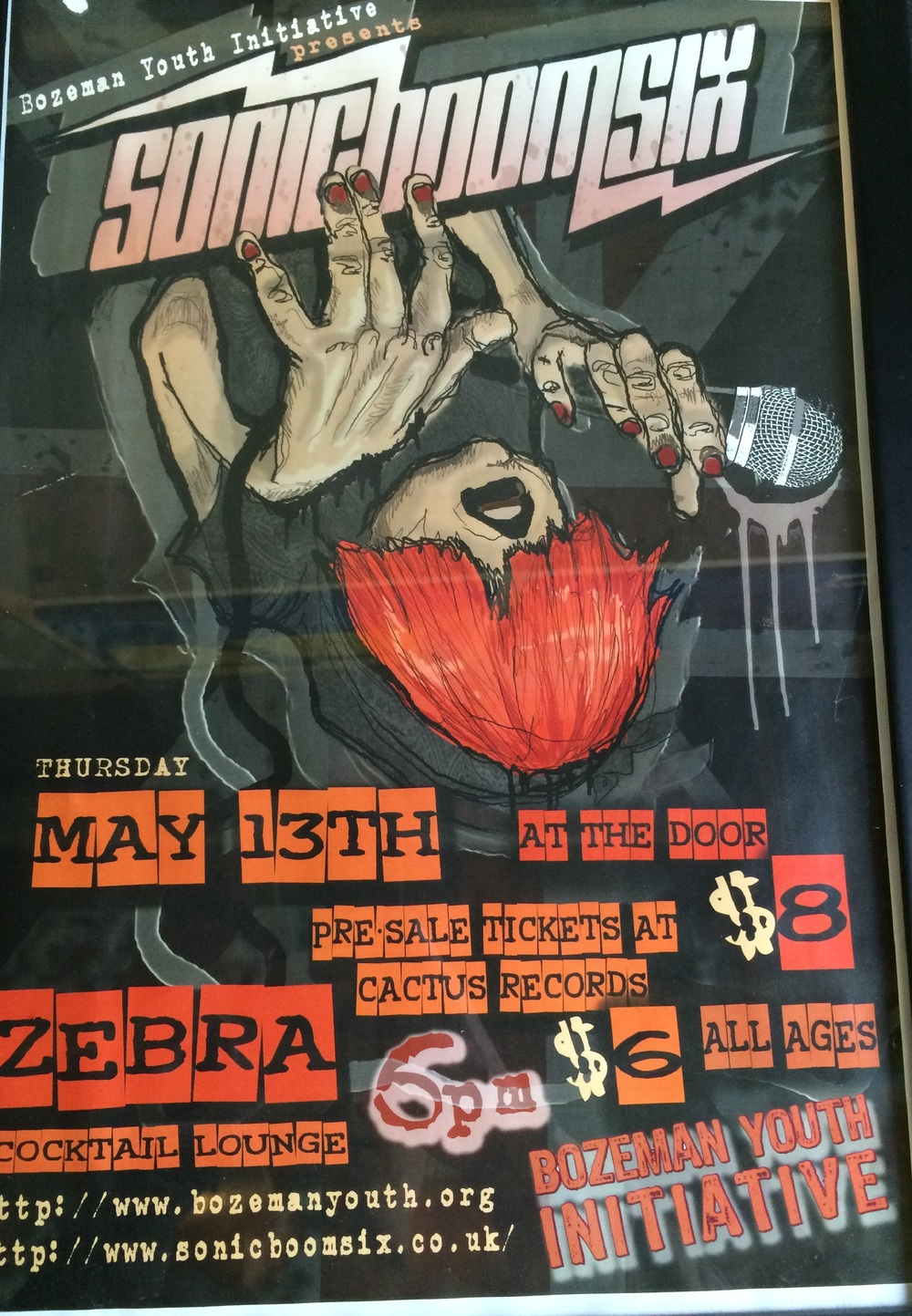 One of a series of all-ages shows we did with Compound Productions in Bozeman. Poster, Kate Murphy.