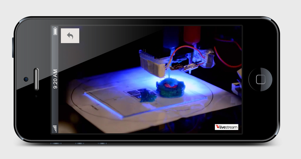 LIVE 3D Printing