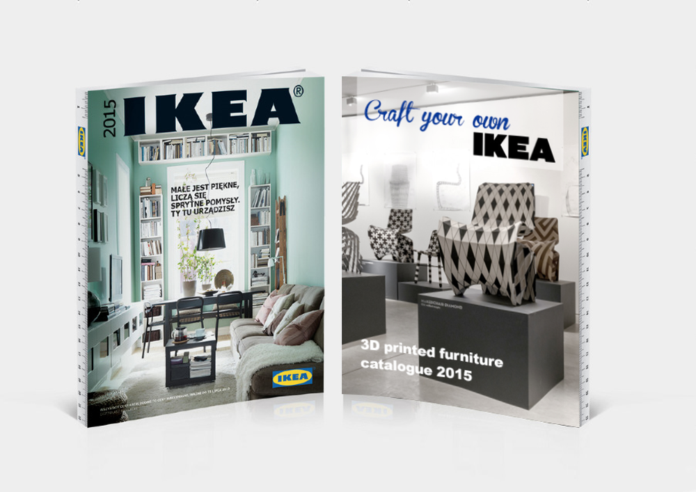 Double sided IKEA Catalogue