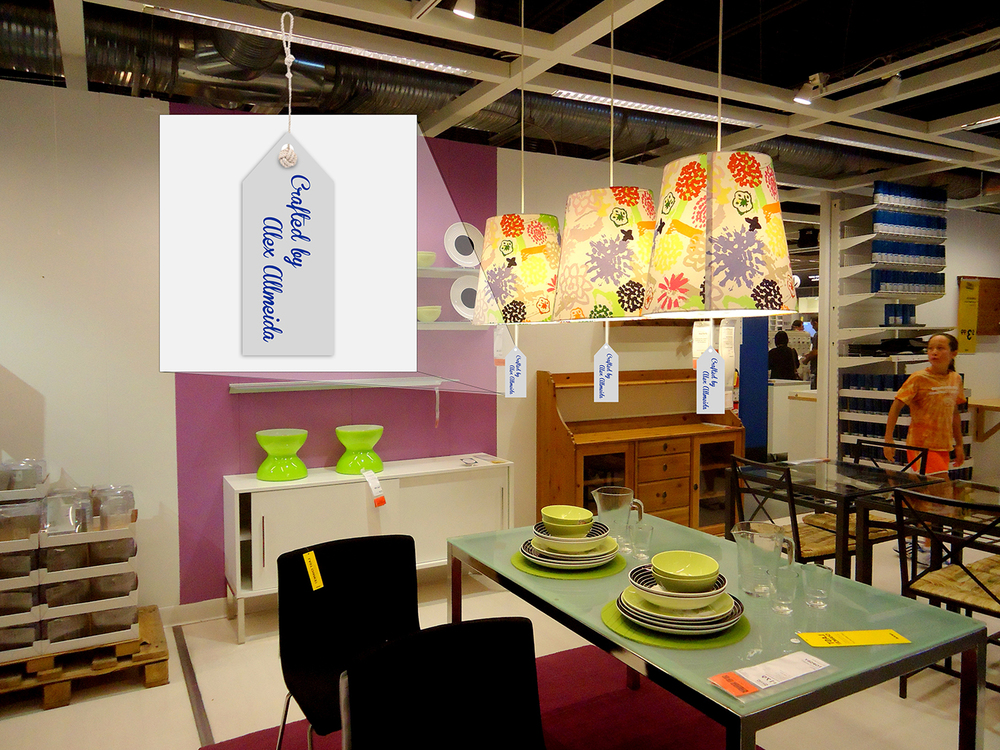 Craft your own products will be featured in context of IKEA's normal layout