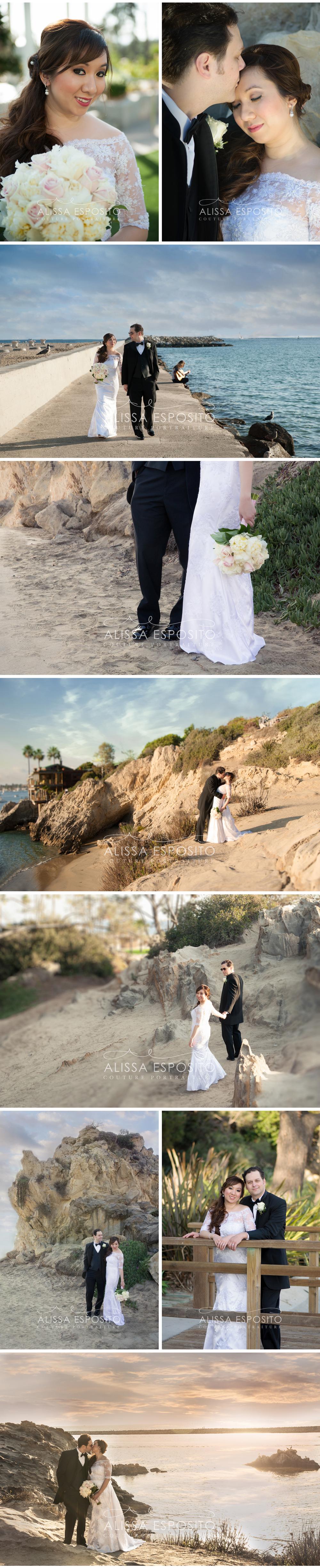 Beach Wedding, Newport Beach, California, Southern California Wedding Photographer, Alissa Esposito Photography | www.alissaesposito.com