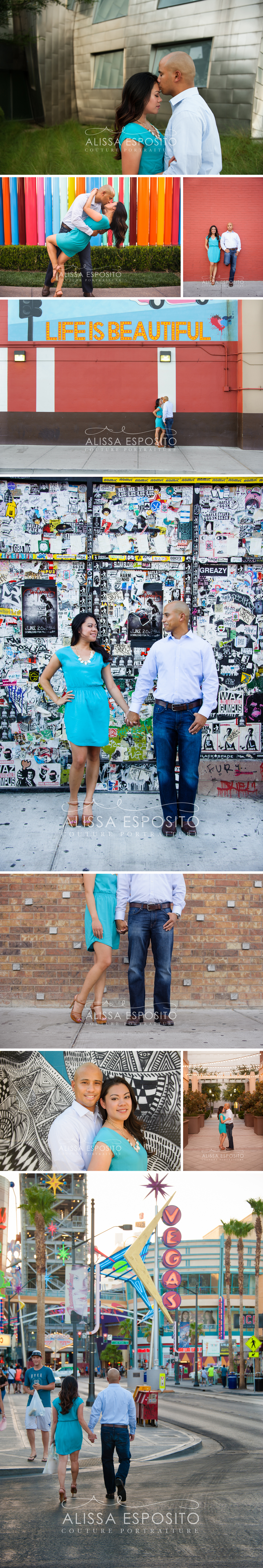 Las Vegas Engagement Wedding Portrait Photographer | Alissa Esposito Photography | www.alissaesposito.com