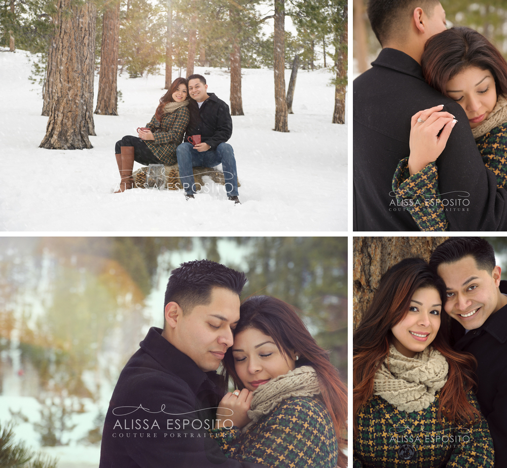 Las Vegas Destination Wedding and Engagement Photography | Mt. Charleston | Winter Engagement Photography | Alissa Esposito Photography | www.alissaesposito.com