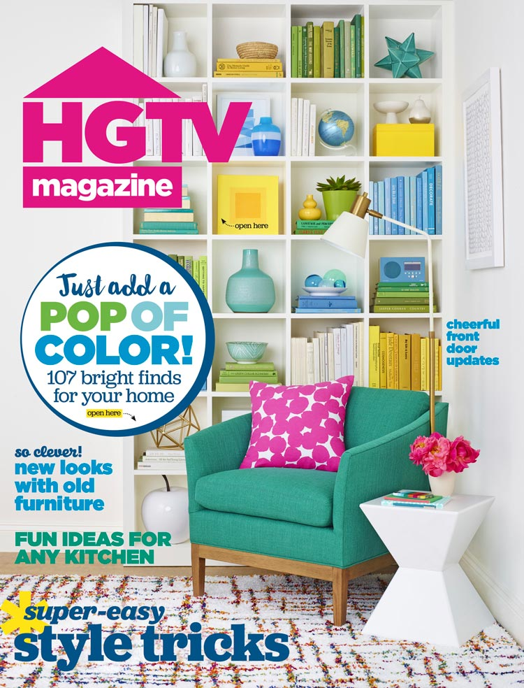Jessica Dauray Interiors Featured in HGTV Magazine