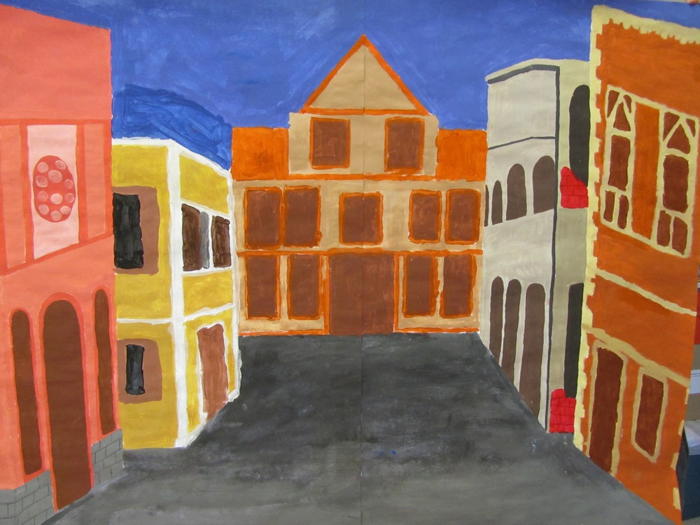 "Romeo and Juliet , ""Streets of Verona"" by Ruthkelley Rojas, Angel Ortiz, and Mary Garcia"