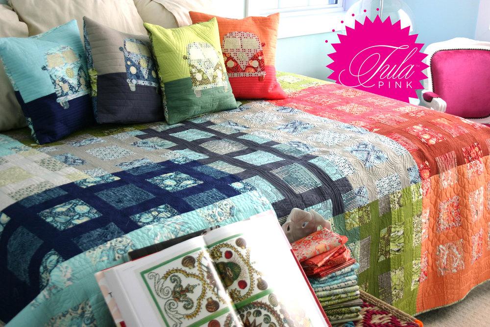 Free Patterns — Tula Pink : tula pink quilt kits - Adamdwight.com