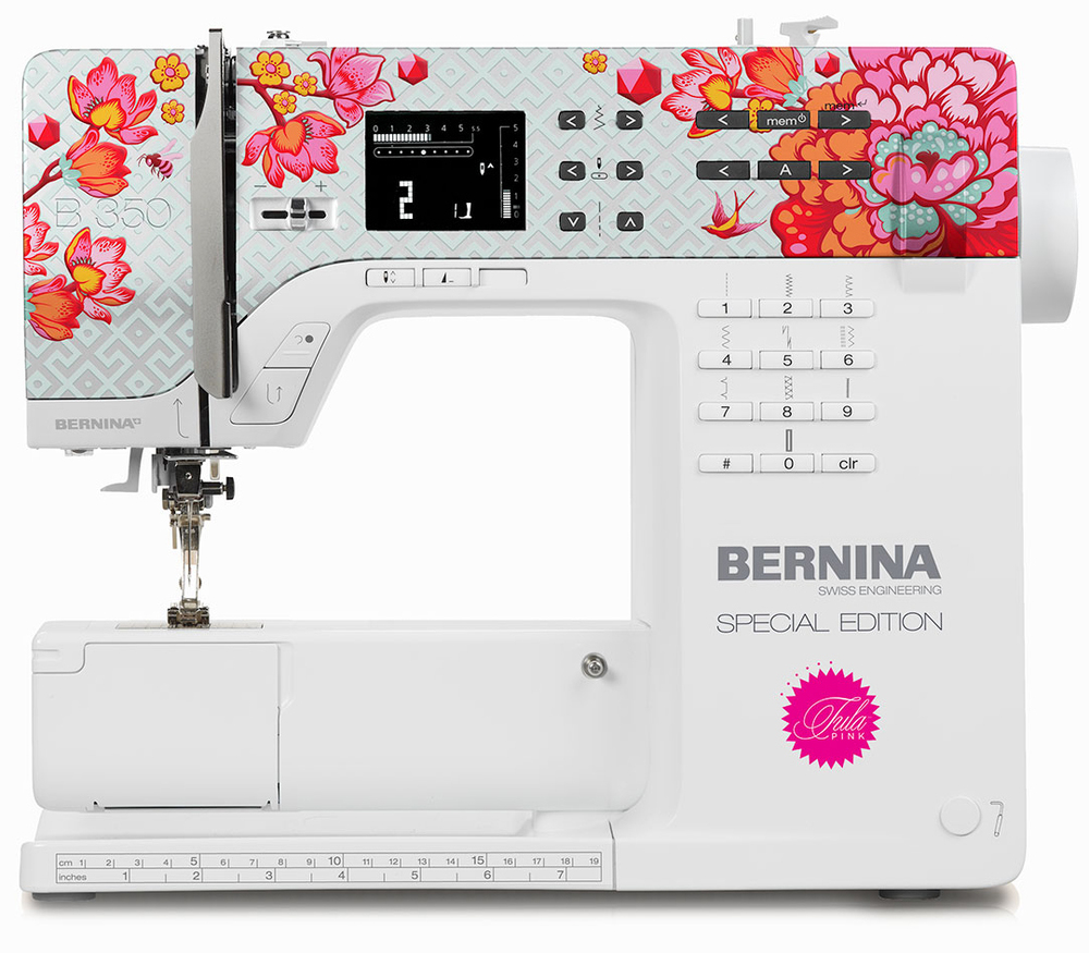 "BERNINA 350SE ""TULA"" edition designed by Tula Pink"