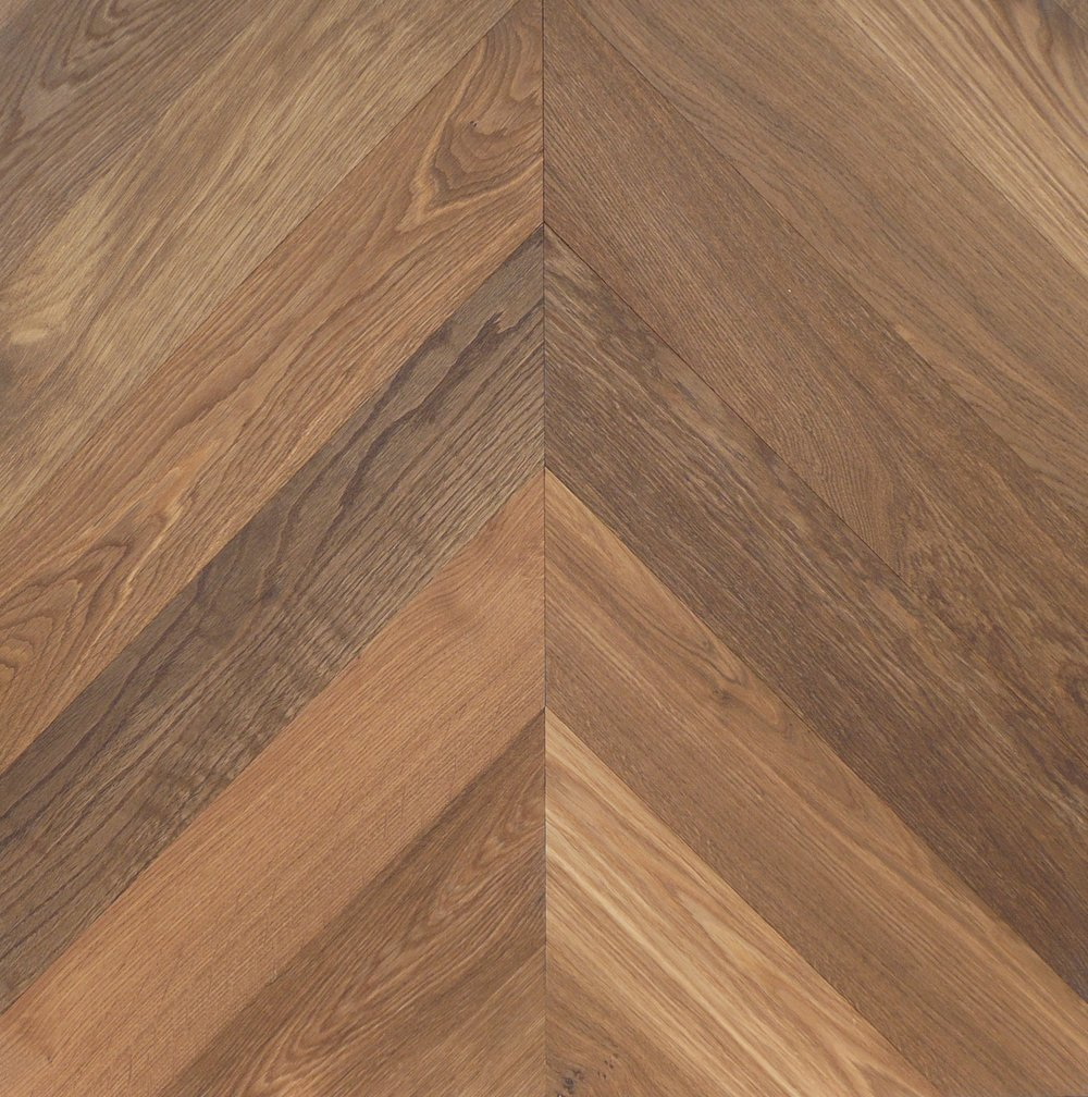 Chevron - 'Galicia coloured' Chevron 45°, Bespoke Elegance.JPG