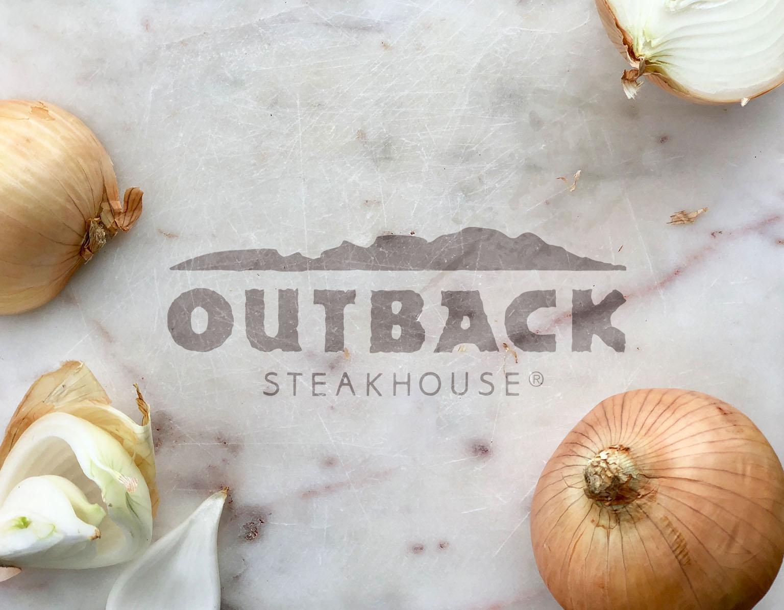 Outback Steakhouse Menu — Megan VanDagens