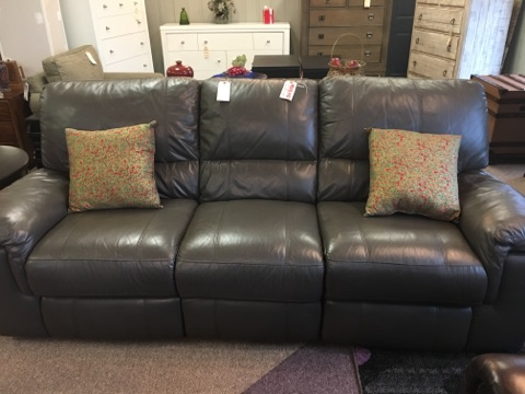 Thomasville Holbrook Leather Reclining Sofa Furnish This Fine