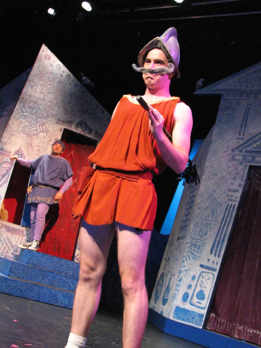 A Funny Thing Happened on the Way to the Forum  | Hart House Theatre | 2007 | Photo by Daniel DiMarco