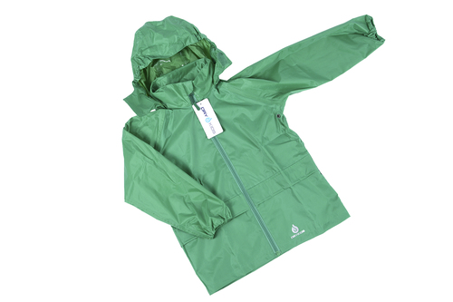 fc01cefee Dry Kids Green Waterproof Jacket