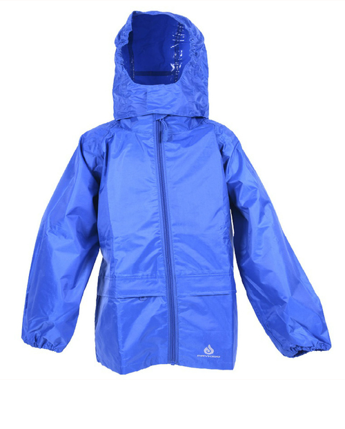 Dry Kids Royal Blue Waterproof Jacket