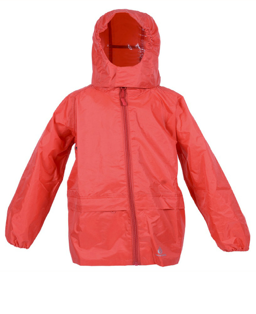 ec9b4494d Dry Kids Red Waterproof Jacket