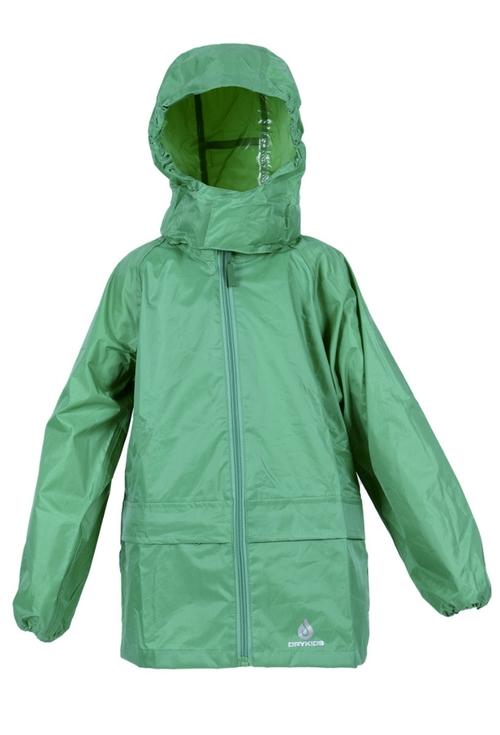 Dry Kids Green Waterproof Jacket
