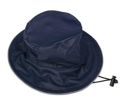 Dry Kids Navy PU Wide Brim Hat. pu-navy-hat.jpg a808749301f