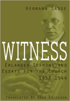 Witness: Erlangen Sermons and Essays for the Church