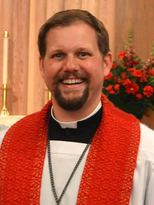 The Rev. Chris Hull, senior pastor at Zion Lutheran Church, Tomball, TX