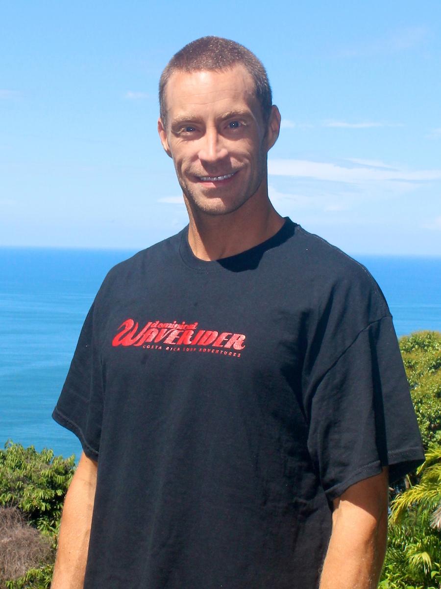 Andrew Webster of Dominical WaveRider