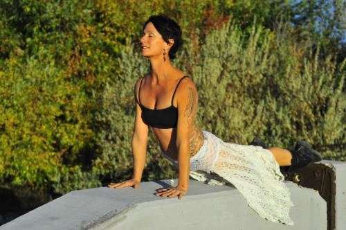 Heidi Michelle Living Yoga Everywhere!
