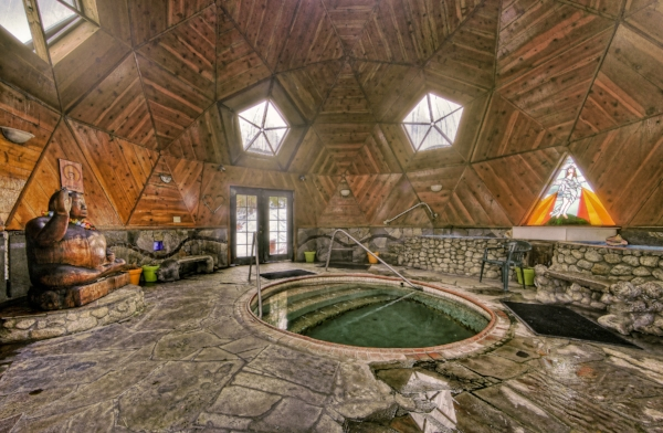 The Temple Dome Area ~ Hot Pool