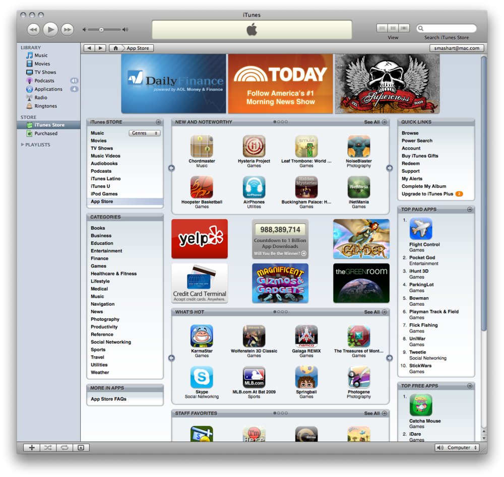 New and Noteworthy on iTunes⇪