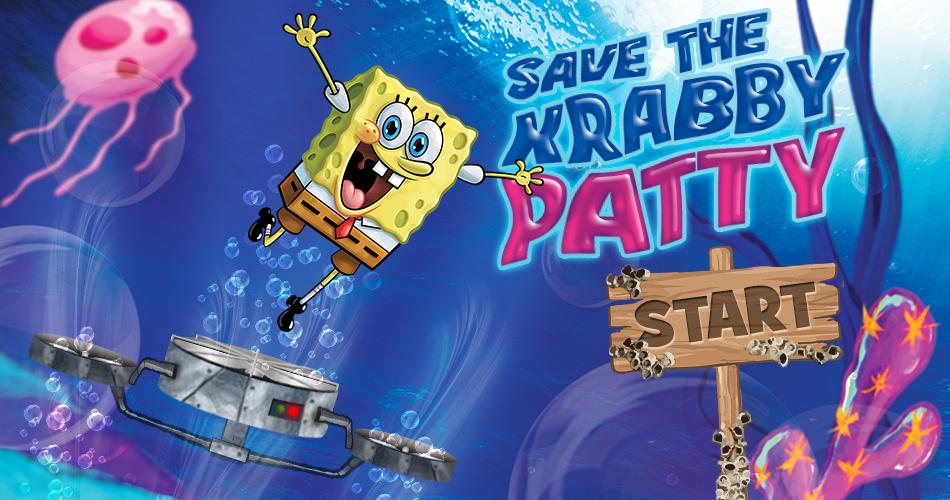 Game Screen Design - Sponge Bob / Nickelodeon
