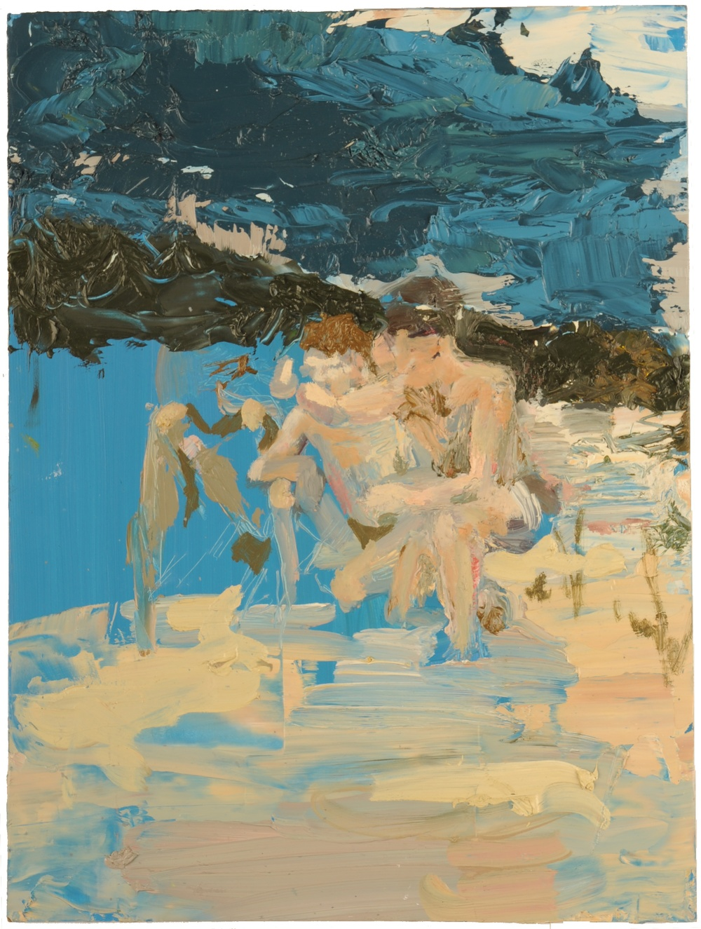 together (beach scene 2)
