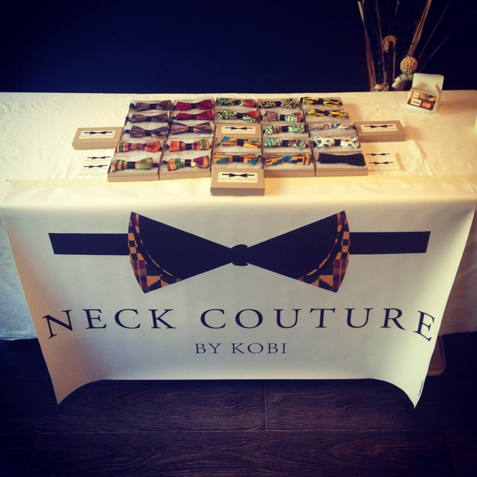 This Neck Couture Booth.
