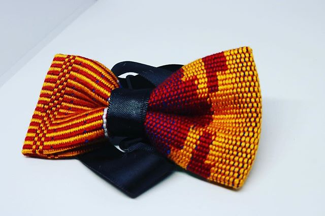 The Baby Kente Bow Tie👶...
