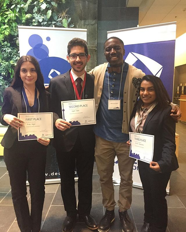 Congrats to these students on placing in the top 3 of the @decaugh invitational business competition... • Wishing you the best of luck as you move on to the next stage of competition...