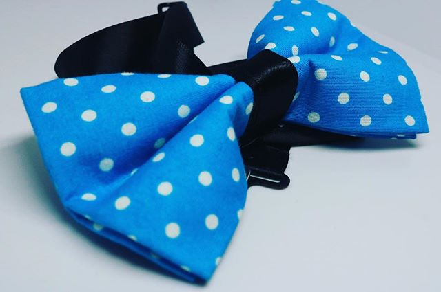 🔵⚪️🔵⚪️ The Classic Polka Dot bow tie... 🔵⚪️🔵⚪️ • Might I add The Purposeful Story Podcast @iamkobitalks is in the editing phase👀...