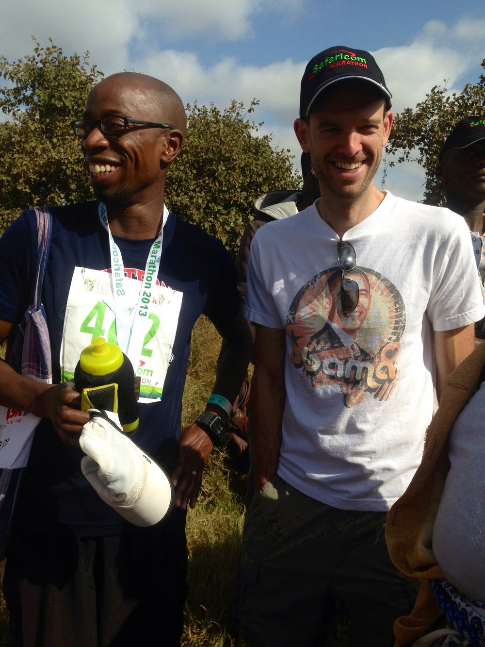 Post 2013 Marathon in Kenya