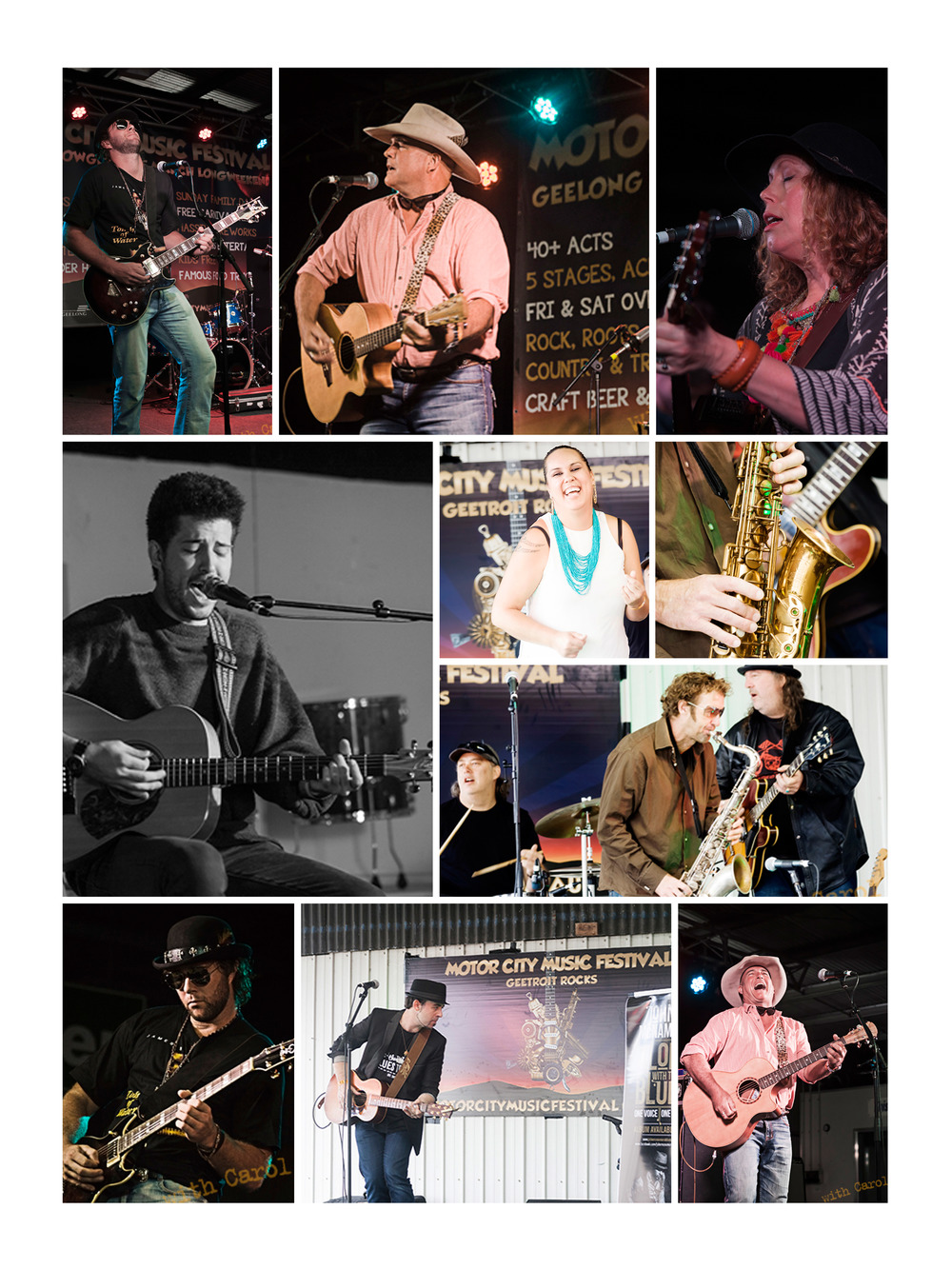 Country legends, blues originals, cover artists and new to the scene singers.  How can a Sunday get any better?