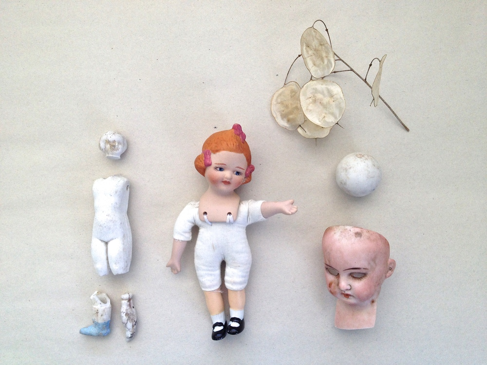 Findings Collection 3 - Doll parts from Michigan