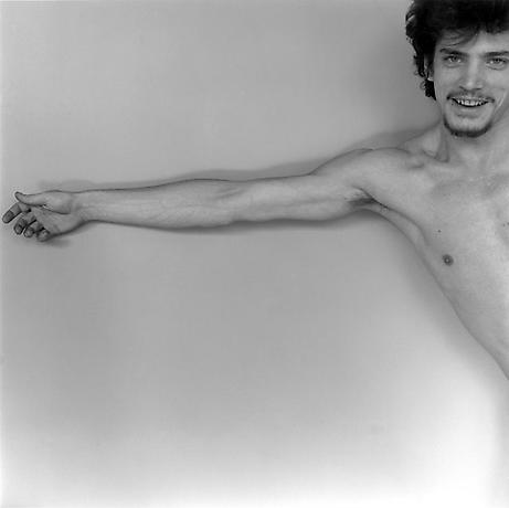 Mapplethorpe,  Self-portrait , 1975. Source: The Robert Mapplethorpe Foundation. Use:  U.S. Fair Use Law  applies.