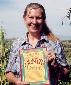 Carla Emery, author of The Encyclopedia of Country Living. Source: Wikipedia