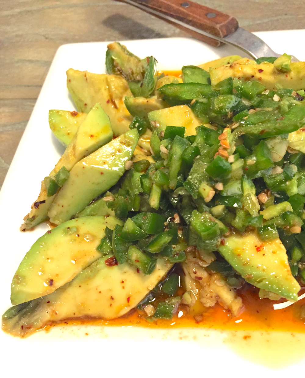 Chuan's Avocado with Pepper
