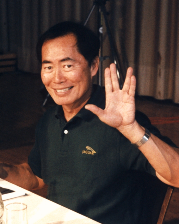 George Takei in Hamm, Germany 1996. Photo courtesy Diane Krauss by Wikimedia Commons (Creative Commons)
