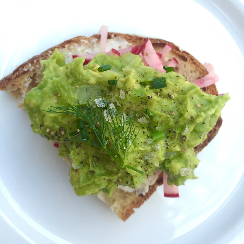 Zinc Cafe's Avocado Toast