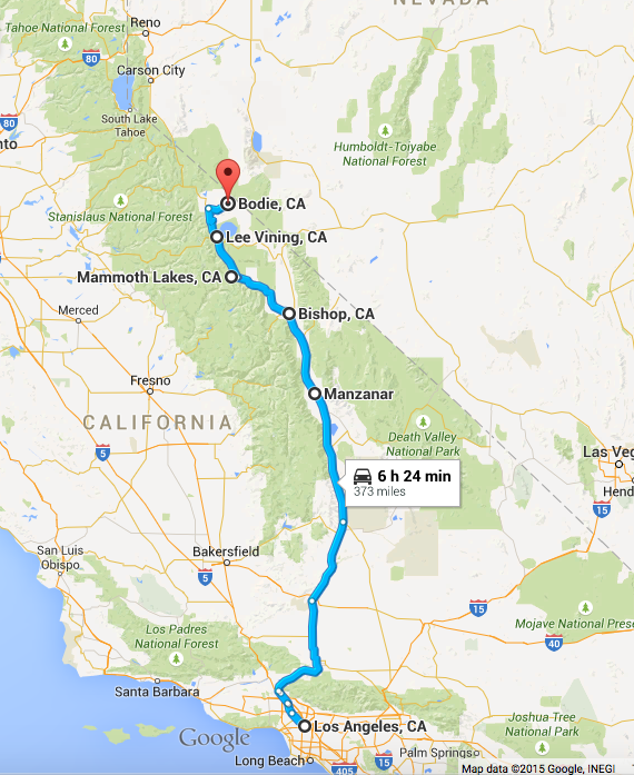 Los Angeles to Mammoth in a Weekend — Province
