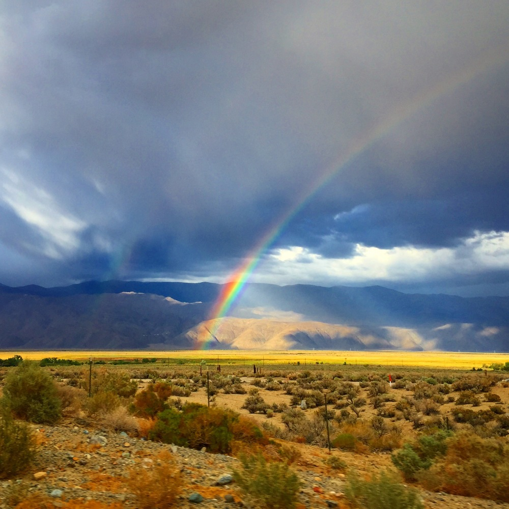 Temporary calm in the storm lights up Inyo County   Click for Instagram @ProvinceJournal