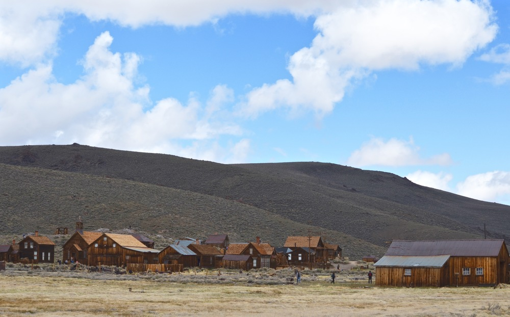 The gold rush ghost town of Bodie, California