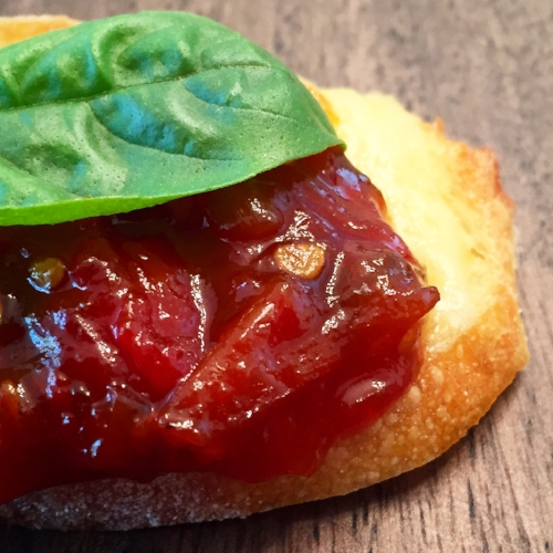 Sweet Smoky Tomato Jam