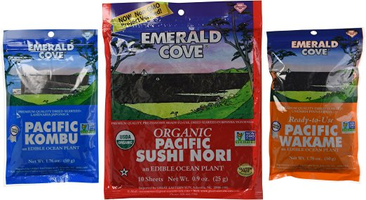 Click to buy Emerald Cove seaweed on Amazon.