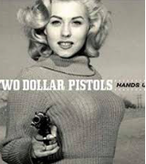 Two Dollar Pistols  -  Hands Up!   Might I suggest lighting a nice wood fire and smashing your bottle of whiskey in it? Listen:  Too Bad That You're Gone, It Doesn't Matter Much To Me