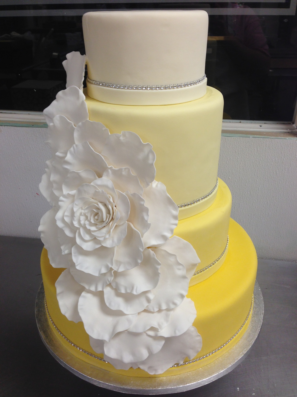 Wedding Cakes — YIA YIA\'S BAKERY