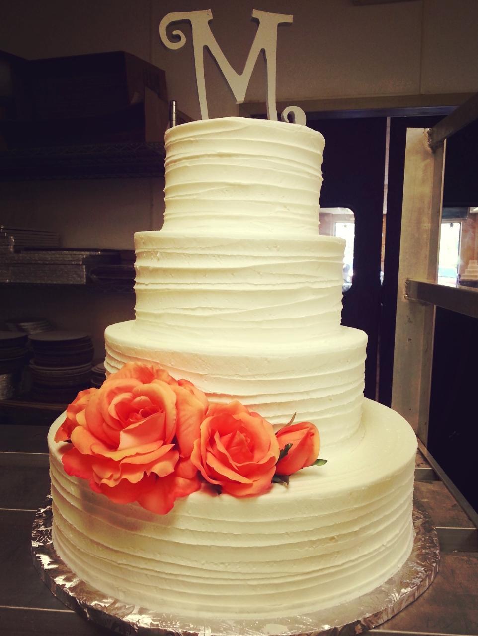 Wedding Cakes — YIA YIA\'S BAKERY