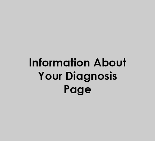 Information about your diagnosis